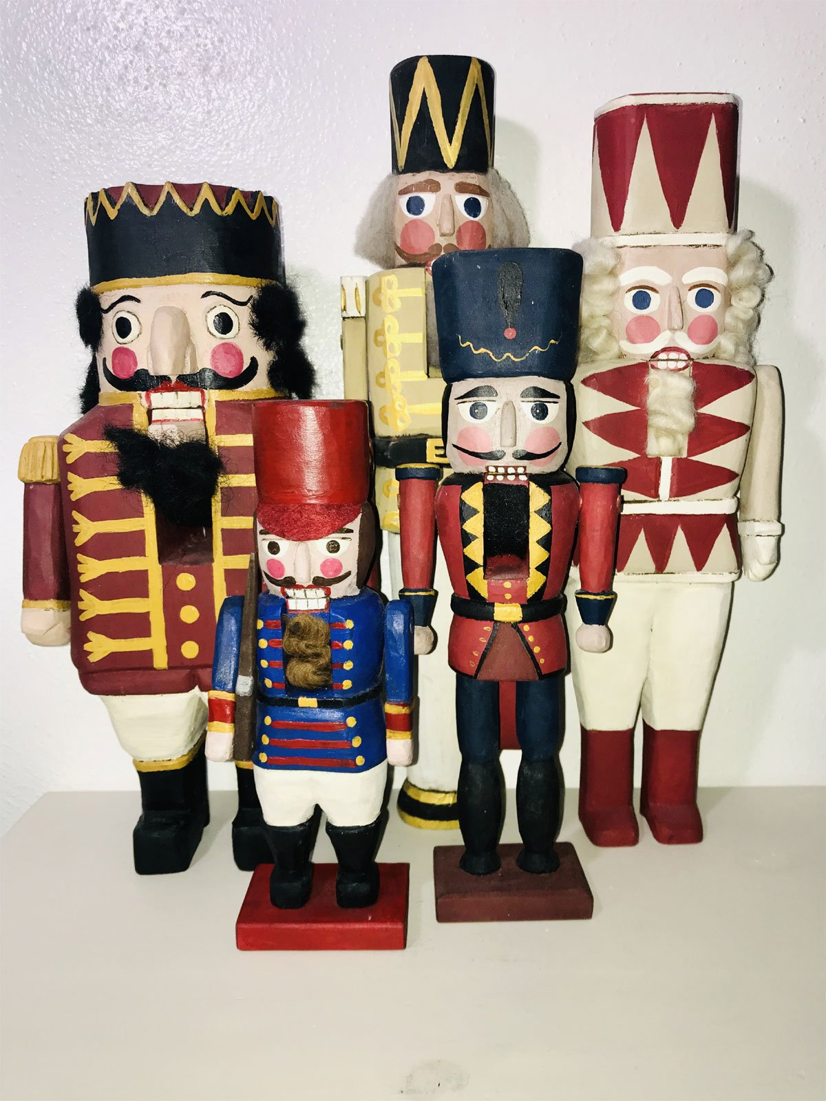 Nutcrackers - American Made - Folk Art - Mary Myers Folk Art
