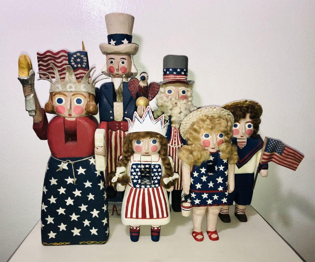 Nutcrackers - American Made - Folk Art - Mary Myers Folk Art